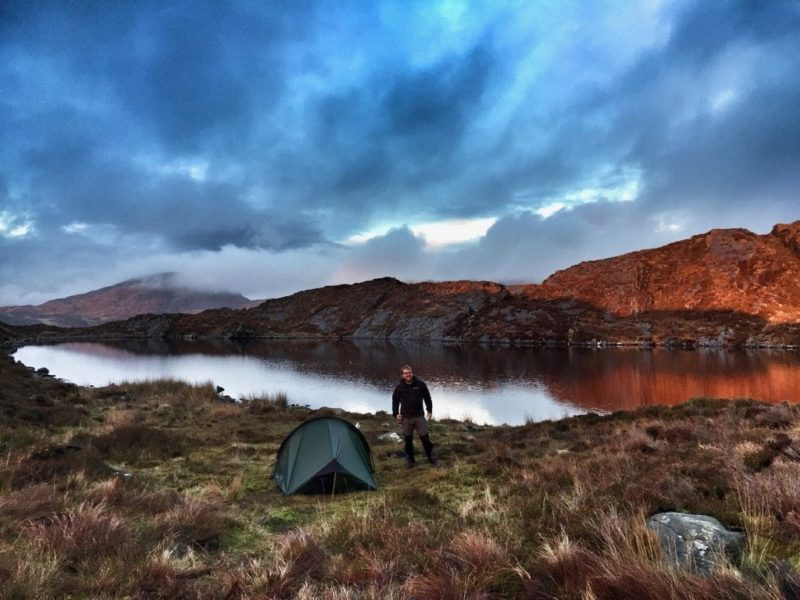 Rhinogs wild camping
