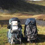 Wild camping rucksacks