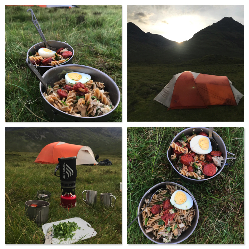 Skye Trail - Wild camping outside of Torrin