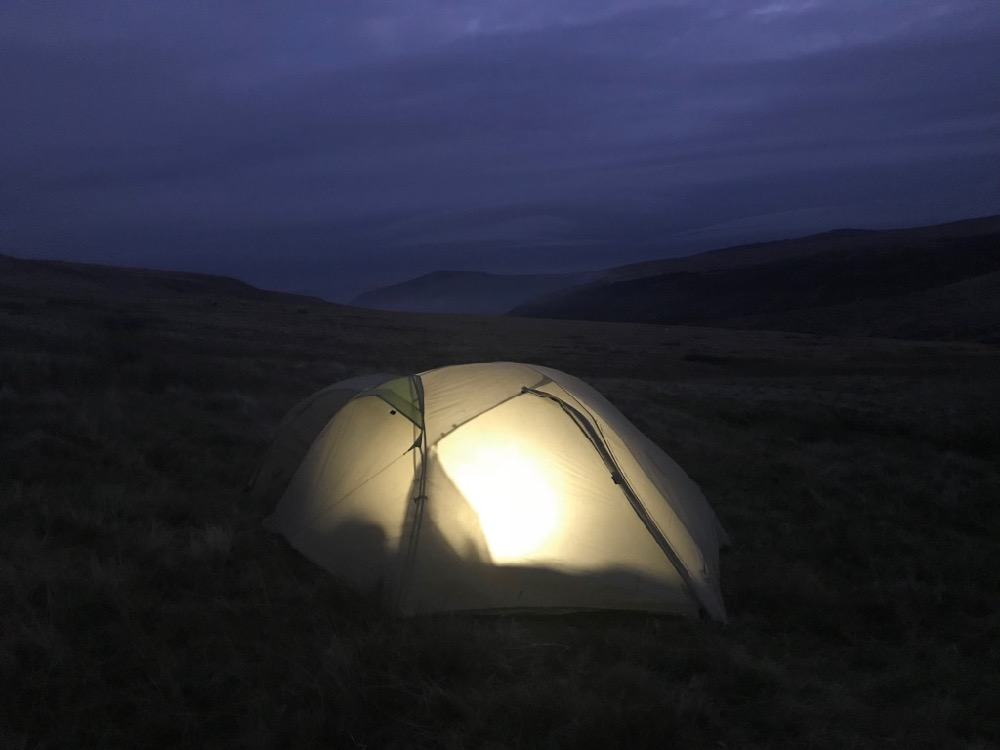 Wild Camping Black Mountains Cat's Back Black Hill