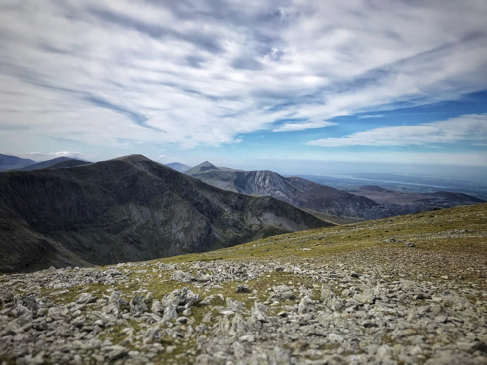 The view from Carnedd Llewelyn