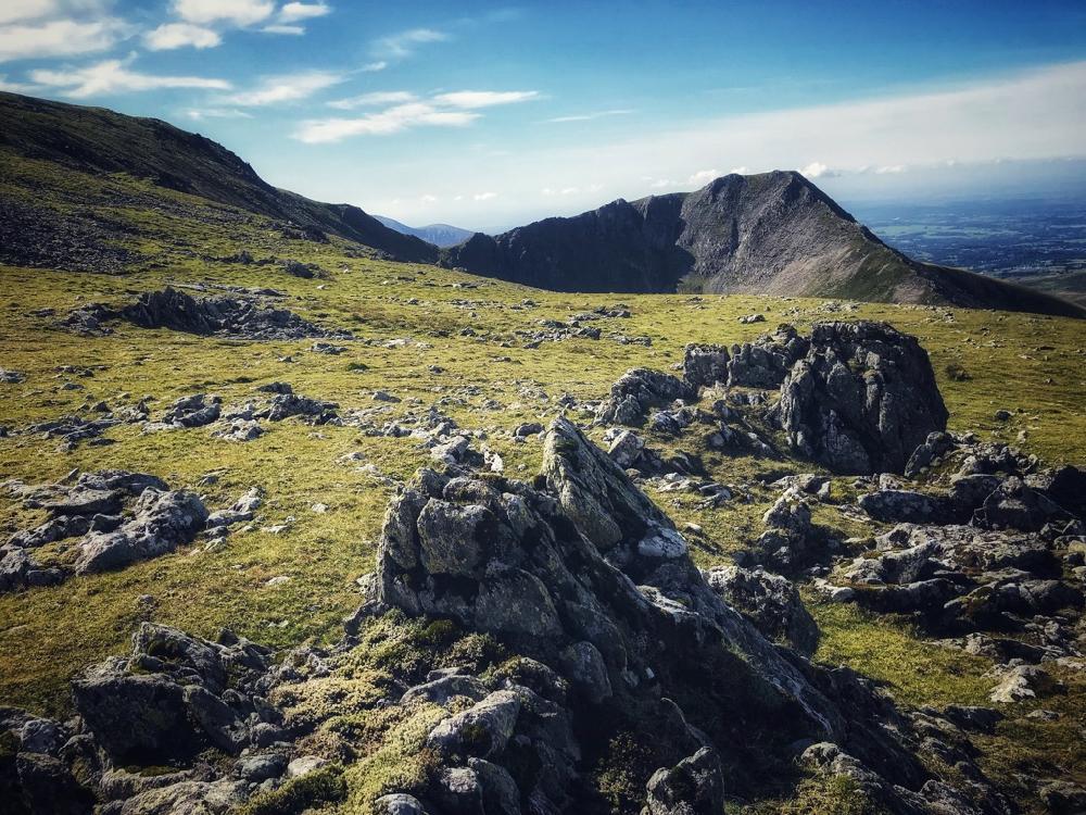 The tempting summit of Yr Elan