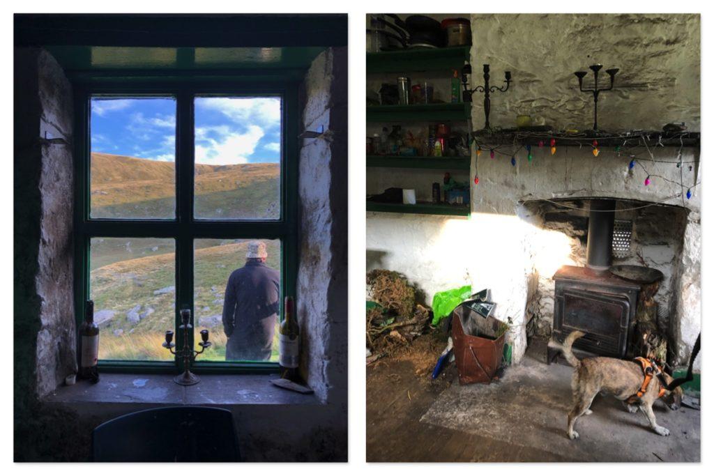 Inside Dulyn Bothy