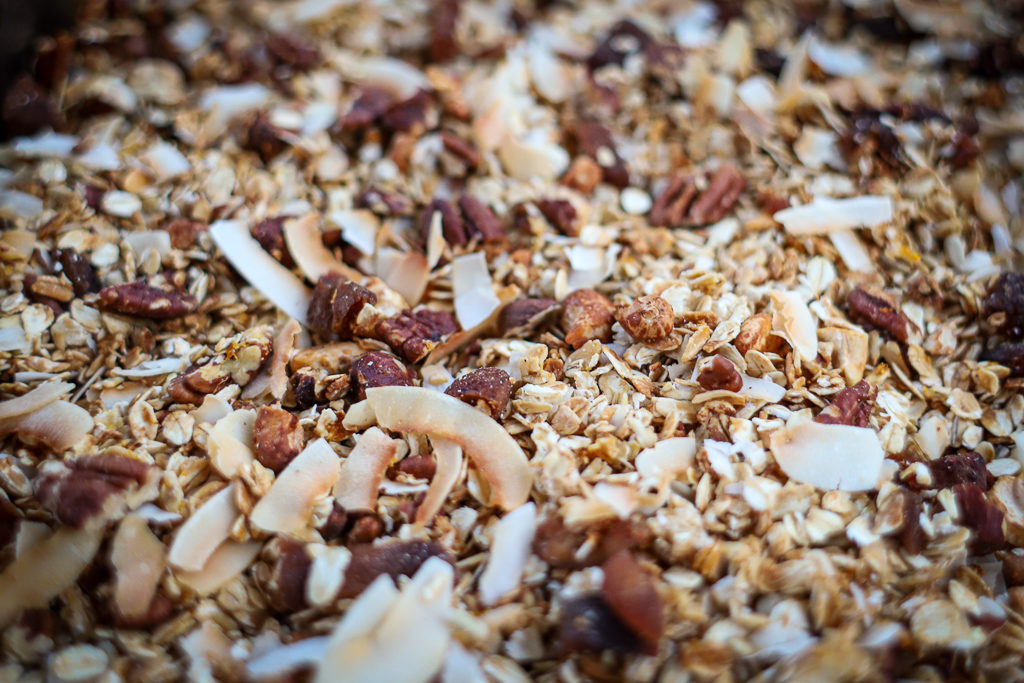 Orange, Apricot, and Pecan Granola Recipe - High Energy Granola for Backpacking Trips