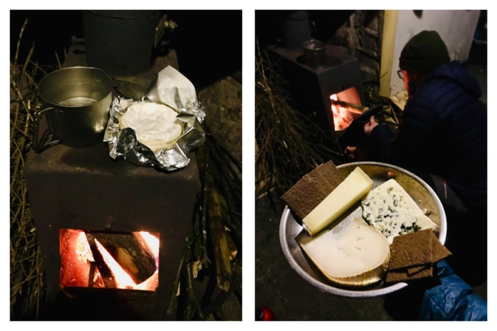 Cheese dreams, bothy style
