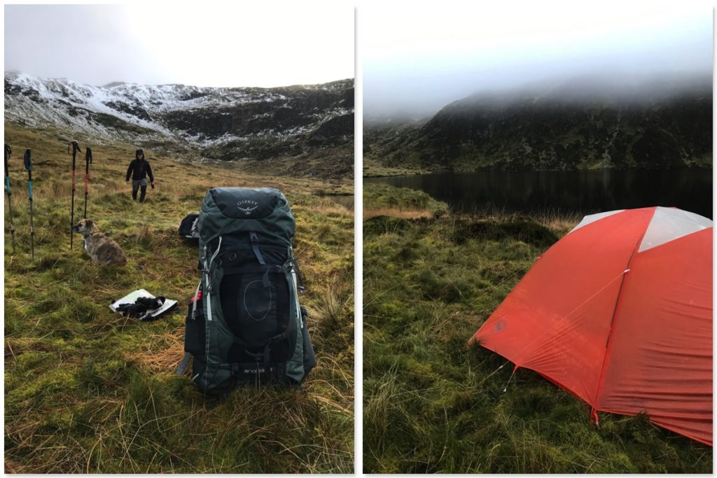 Wild camping: Pitching up on Llyn Llygad-Rheidol