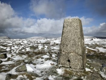 Pen Cerrig-calch trig point