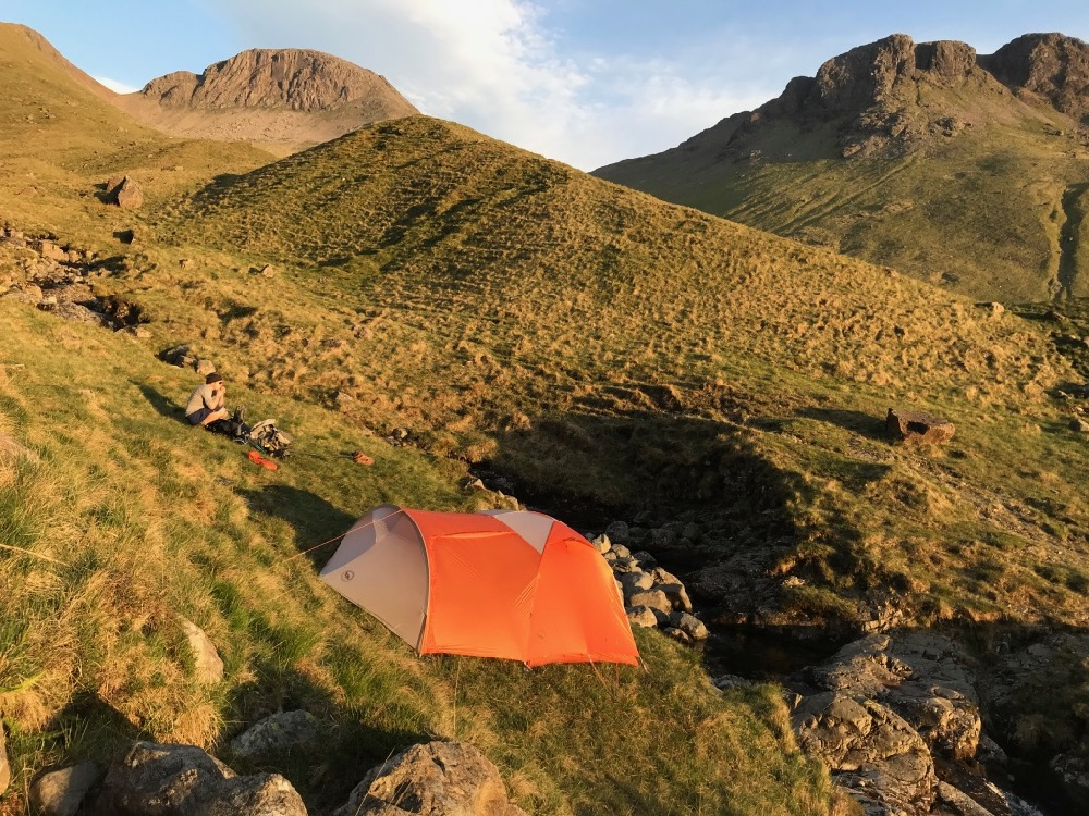 Big Agnes Copper Hotel in Ennerdale Valley, The Lake District