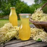 Gooseberry and Elderflower Cordial