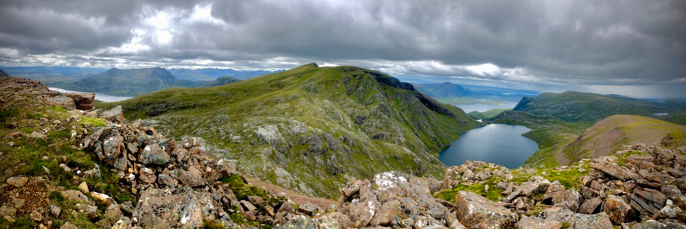 View from Ruadh Stac Mor