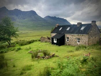 View from Shenavall Bothy