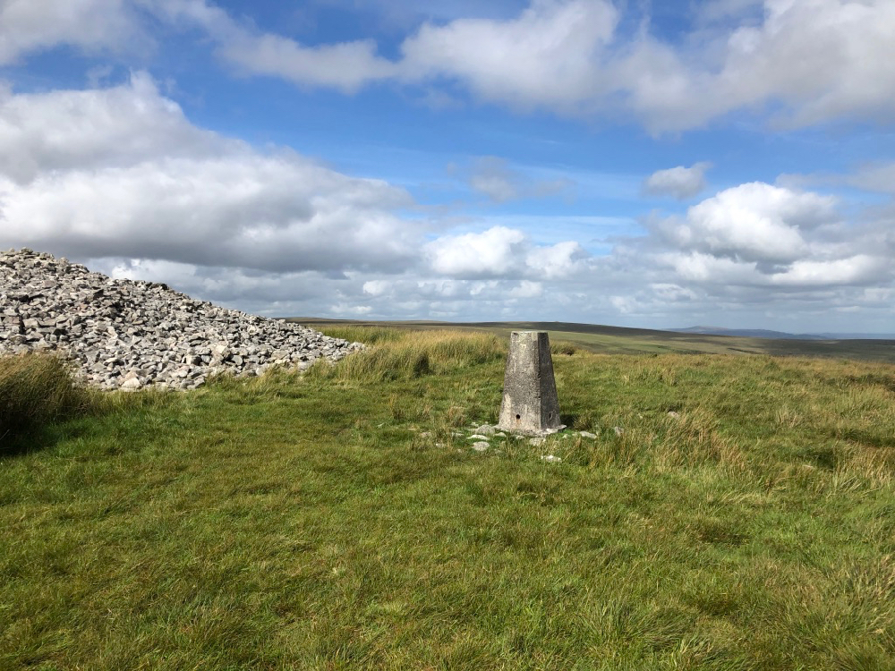 Three Barrows, Dartmoor Trig Point