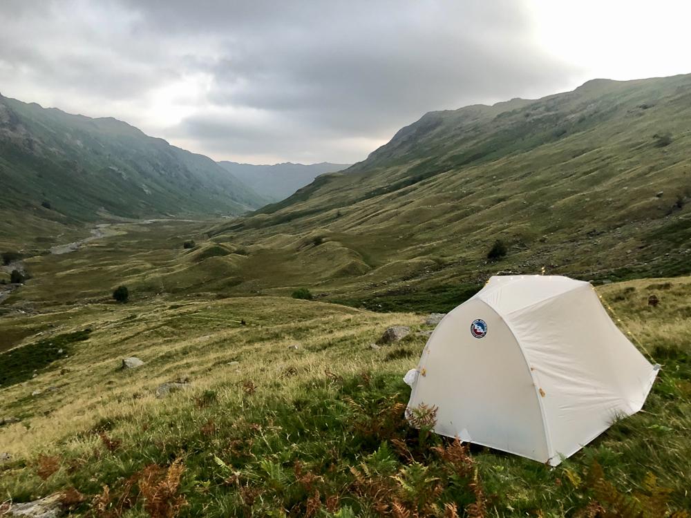 lake district wild camping