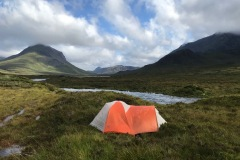Skye Trail - Glen Sligachan Wild Camping