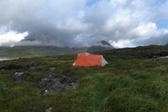 Skye Trail - Wild camping at Camasunary Bay