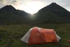 Skye Trail - Wild camping in Torrin