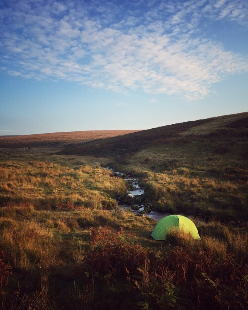 Wild Camping on the River Plyn, Dartmoor