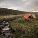 Wild Camping on the West Okemont River near Yes Tor and High Willhays